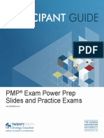 Slides and Practice Exams PMP Exam Power Prep
