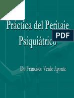 Conferencia Peritaje Psiquiátrico