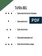 TANDA BEL
