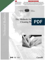 TB11-DryMethodsforSurfaceCleaningPaper