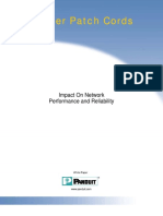 PANDUIT Patch Cords - Impact on Network Performance and Reliability Aug 2006