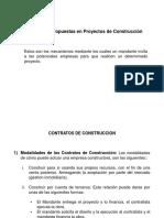 Clase 4 - Contratos y Propuestas en Proyectos de Construcción
