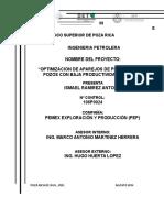 Portada Residencia en Mecatrónica 2015