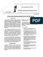 Steel Tips - Composite Beam Design With Metal Deck.pdf