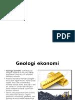 GEODINAMIKA (Geologi ekonom)