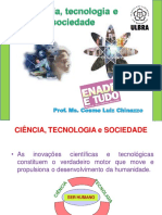 Ciência,Tecnologia e Sociedade