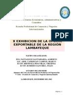 Informe de La Feria 2012