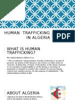 human  trafficking in algeria