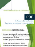 retroalimentacion de ortodoncia