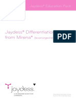 Mirena Jaydess Differentiation Booklet Sept15