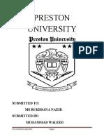 PRESTON UNIVERSITY.docx