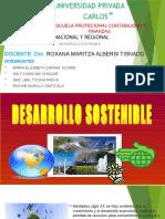 DESARROLLO SOSTENIBLE   1234