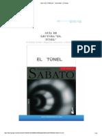 Guía de EL TÚNEL - Documentos de Google