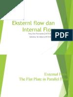 Eksternal Flow Dan Internal Flow