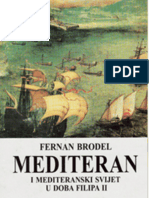Mediteran i mediteranski svet u doba Filipa II, Tom I - Fernan Brodel