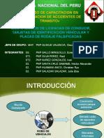 DIAPOSITIVA IDENTIFICACION DE PLACAS VEHICULAR