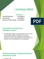 KELOMPOK 1 - Memilih Strategi Diklat