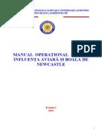 Manual Operational Pentru IA Si Boala de Newcastle Rev Final_43094ro