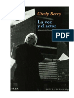 Cicely Berry Voz