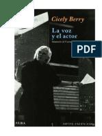 Cicely Berry Voz