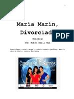 Maria Marin Divorciada