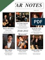 Newsletter Summer 2010