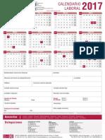 Calendario Laboral 2017 Rellenable (1)