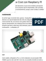 Domotica Low Cost con Raspberry PI | Gomezbecerra25.com