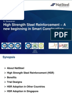 8 High Strength Steel Reinfocement - A New Begining in Smart Construction