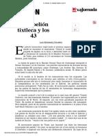 20150811_La Jornada_ La rebelión tixtleca y los 43