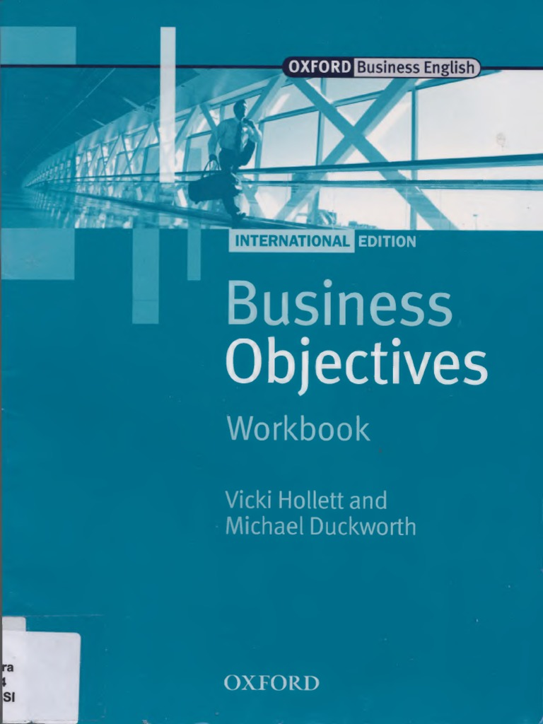 Business Objectives Workbook by Vicki Hollett and Michael ...