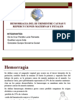 HEMORRAGIA III TRIMESTRE