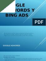 Google Adwords y Bing Ads