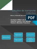 5. Estudios de Transporte Colectivo1
