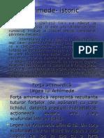 aplicatiile legii lui Arhimede - Fizică – mecanica fluidelor.ppt