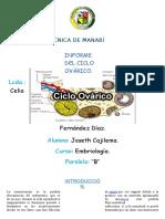 Ciclo Ovarico Joseth Cajilema