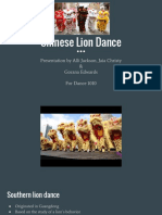 chinese lion dance pp