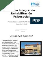 Centro Integral de Rehabilitación Psicosocial Reunion CECOSAM (1)