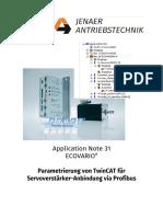 AN31 TwinCAT Profibus Achse Einrichten Nicht Interpolierend (1)