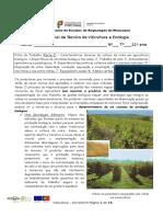 Ficha de Trabalho 2 Características Técnicas Da Cultura Da Vinha Em Agricultura Biológica Parte I