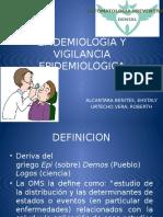 Epidemiologia y Vigilancia Epidemiologica