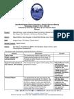 LMUDA October 5, 2016 Meeting Minutes