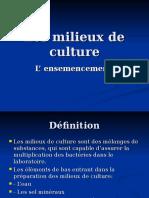 An2 Microbiologie Tp Les Milieux de Culture