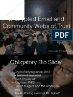 David Huerta - Encrypted Email & Community Circles of Trust