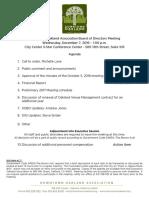 DOA Board December 7, 2016 Agenda Packet