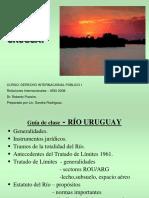 Rio Uruguay. Guia de Clase.lic. Sandra Rodriguez