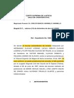 2-Revisión en Proceso de Declaración de Pertenencia de Las Cuidanderas