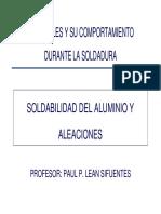 Tema 23b - Aluminio y Aleaciones de Aluminio