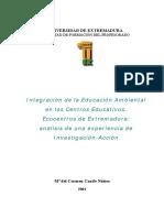 IntegracionDeLaEducacionAmbientalEnLosCentrosEduca