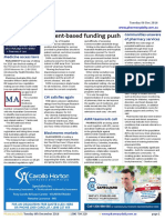 Pharmacy Daily for Tue 06 Dec 2016 - Patient-based funding push, Communities unaware of pharmacy services, $4.8m aspirin trial, Guild Update and much more